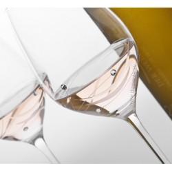 Lunar biele víno - pár kalichov