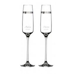 Passion - svadobné poháre s gravírovaním