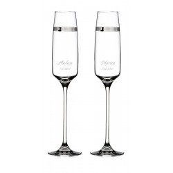 Passion - wedding glasses with custom engraving