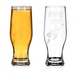 Super Otec - pivový pohár
