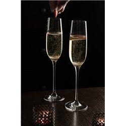2x Moda pohár na šampanské