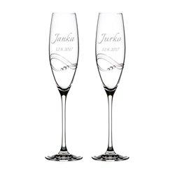 Desire svadobné poháre - šampanské