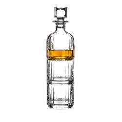 Combo darčekový set - dva poháre a fľaša na whisky/brandy/gin