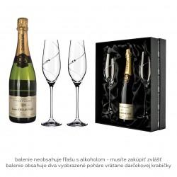 Silhouette šampaň set