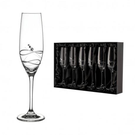 Soho sada pohárov na šampanské