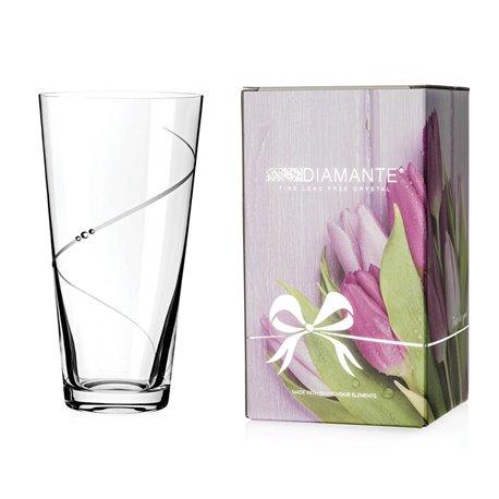 Silhouette konická váza 25cm