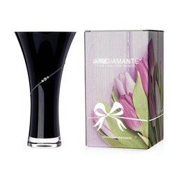 Silhouette čierna váza 25cm