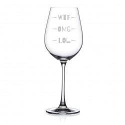 WTF?! pohár na víno