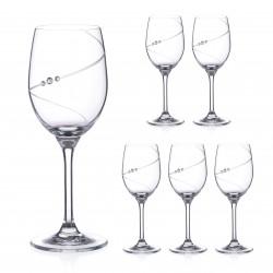Biele víno - 6 kusov - Silhouette City