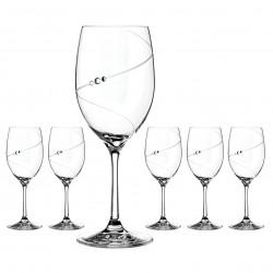 Červené víno - 6 kusov - Silhouette City