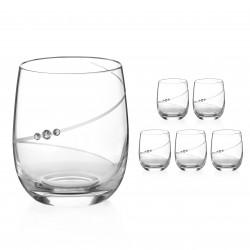 Nízke poháre - 6 kusov - Silhouette City