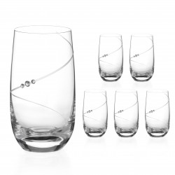 Vysoké poháre - 6 kusov - Silhouette City