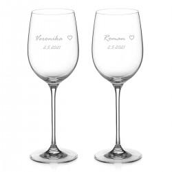 Simply Love poháre na červené víno