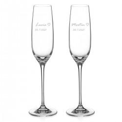 Simply Love poháre na šampanské