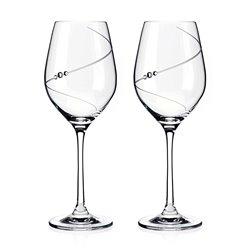 Silhouette poháre na víno