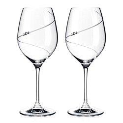 Silhouette poháre na červené víno - 2 poháre