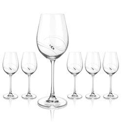 Atlantis malé poháre na víno - 6 pohárov