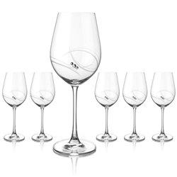 Atlantis veľké poháre na víno - sada 6 pohárov