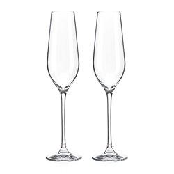 Dva Auris poháre na šampanské a prosecco