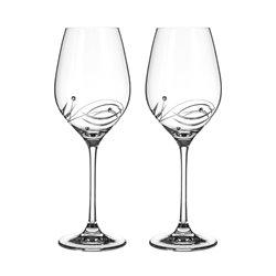 Lunar - dva poháre na biele a rosé víno