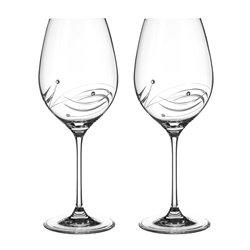 Lunar - dva poháre ne červené víno
