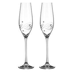 Lunar - dva poháre na šampanské