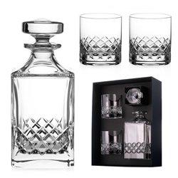 Grosvenor trojdielny whisky set