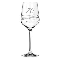 Spiral pohár na víno k 70. výročiu