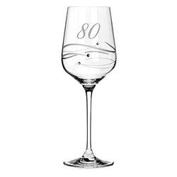 Spiral pohár na víno k 80. výročiu