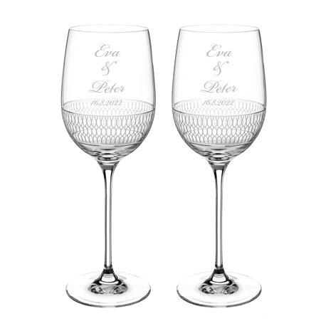 Elise svadobné poháre na víno