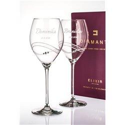 Desire - svadobné poháre s gravírovaním