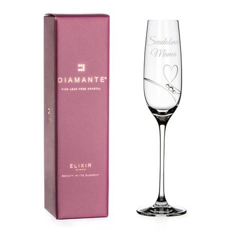Romance šampanské - svadobná mama