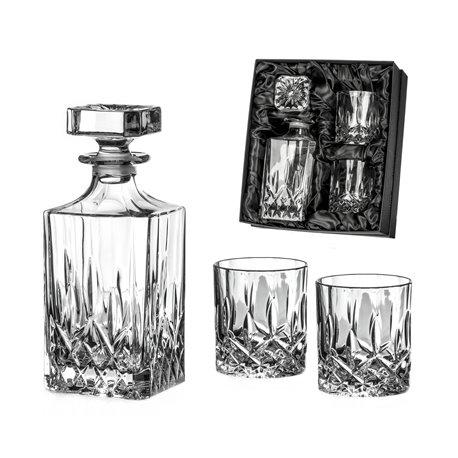Dorchester trojdielny whisky set