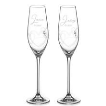 Svadobné poháre s jedinečným dizajnom, dostupné len na www.diamante.skhttps://www.diamante.sk/novinky/548-string-of-love.html#svadba #vyrocie #laska #svadobnepohare #svadobnydar #svadba2021 #svadba2022 #nevesta #zenich #svadobnedekoracie #svadobnainspiracia