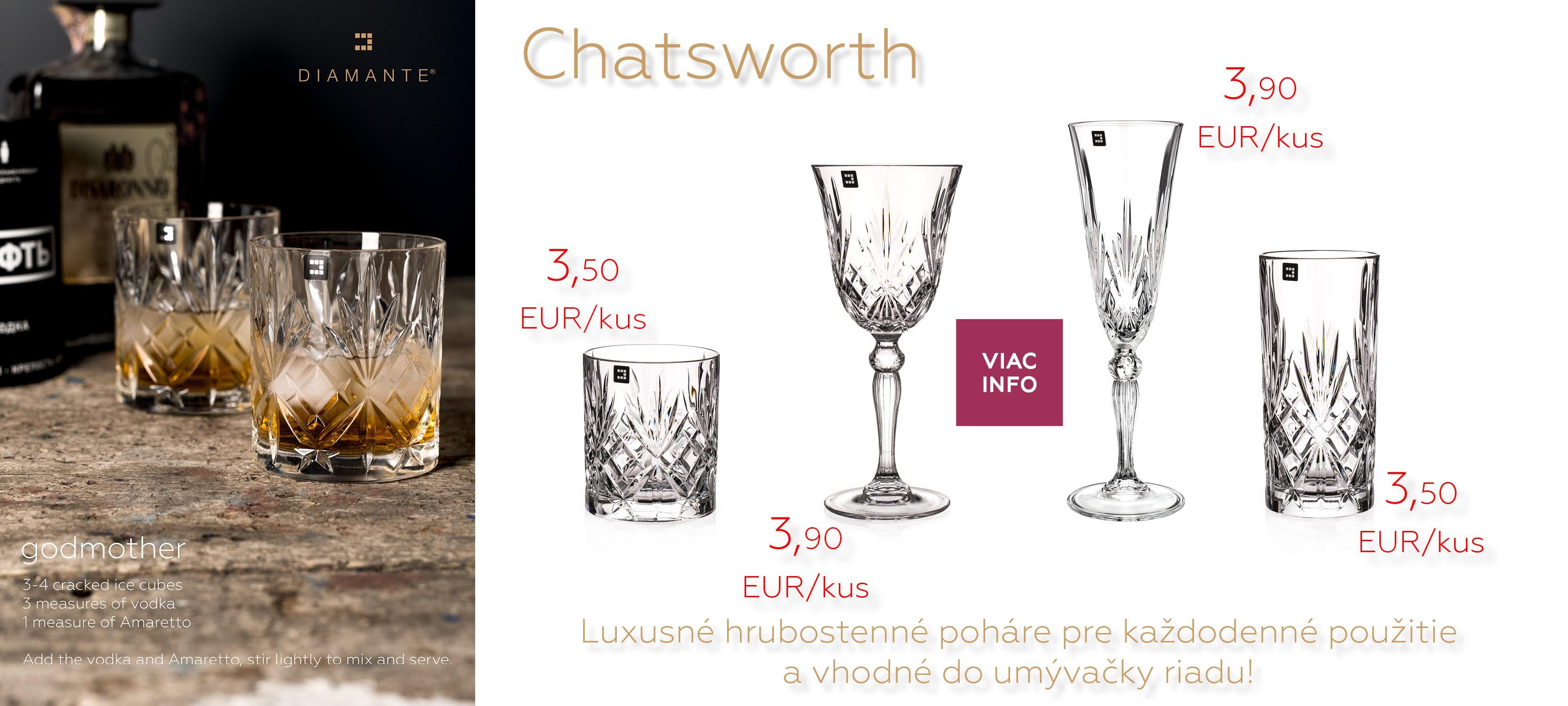 Luxusné hrubostenné poháre pre každodenné použitie a vhodné do umývačky riadu